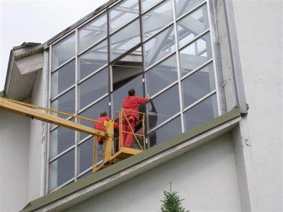 Harkujärve kiriku akende parandus