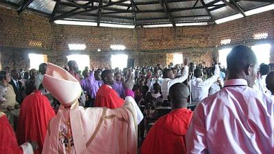 Consecration of Cathedral in Kihiihi, Uganda
