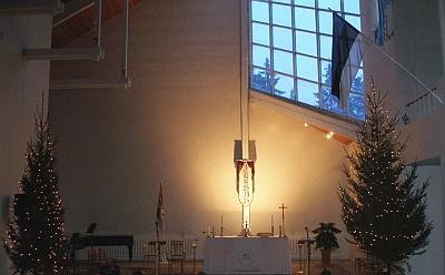 Kirik jõuluajal
