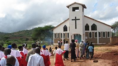 Ülestõusmise kirik Keenias